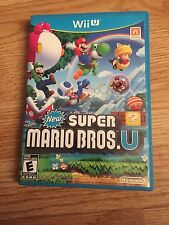 New Super Mario Bros. U Nintendo Wii U Complete With Manual Disk Is Great Cib