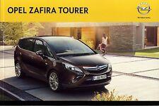 Opel Zafira Tourer 01 / 2014 catalogue brochure polnisch polonais