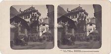 Tyrol du Sud Südtirol Bozen Bolzano Italia Stéréo Vintage argentique c 1910