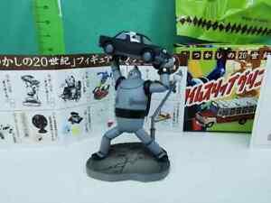 Super Robot 28 Manga TETSUJIN 28 EZAKI GLICO Gashapon Trading Figure N.4