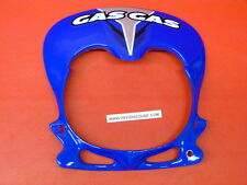 Protection phare Trial racing Pro bleu azur Gasgas pièces