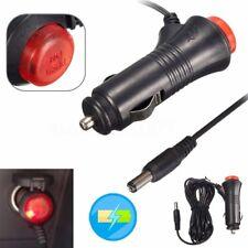 Car Cigarette Lighter Socket DC 12V Converter Power Supply Charger Adapter Male