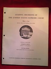 LEADING DECISIONS OF THE UNITED STATES SUPREME COURT BAKER v. CARR(26)