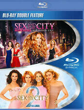 Sex and the City Extended Cut 1 & 2 Double Feature (Blu-ray Disc, 2012)