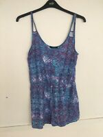 Forever 21 Multicoloured Playsuit Size L