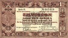 05 Netherlands / Niederlande P61 1 Gulden 1938 Serie FL