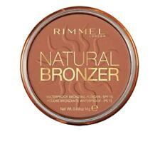 RIMMEL NATURAL BRONZER WATERPROOF BRONZING POWDER 026 SUN KISSED £3.99 FREE POST