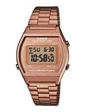 Casio Collection Diseño Retro Digitales Reloj de Pulsera Color Cobre B640WC-5AEF