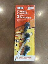 "Vintage 1974 Selfix Magnetic Pencil Holders - ""Keep a pencil handy."""