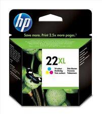 Cartuchos de tinta tricolor HP para impresora
