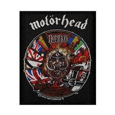 Motorhead 1916 Heavy Metal Album Cover Art Rock Band Sew On Applique Patch