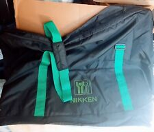 NIKKEN Kenko Pad Demo Kit Zippered LARGE BAG VERY DURABLE BLACK New