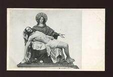 Italy Gardena Sculptor ALFONS NOFLANER advertising c1900s PPC