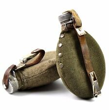 WWII Original Sweden swedish Army Drinking Flask Water Bottle Military Canteen