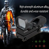 Tactical 11mm/20mm Hunting Scope Holographic Reflex Red Dot Sight Airsoft Scope