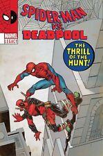 Spiderman Deadpool 23 Camuncoli Lh Lenticular Homage Variant Nm