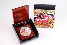 2014 RAM $1 Silver 1oz Australian Spider-Hunting Scorpion Proof Coin - Box & COA