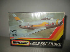 F-86A SABRE KIT MONTAGGIO PK-32 MATCHBOX SCALA 1:72