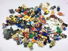 100 Non Lego Minifigures Megablok Heroes minifig lot K476B