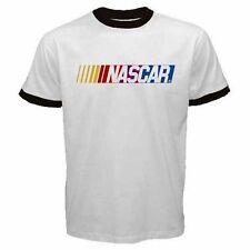 Nascar Car Race Tournament Logo #A Men Ringer T Shirt S M L XL XXL