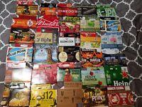 Lot of 12 Random Assorted 6 Pack Craft Beer Cardboard Cartons Holders Carriers