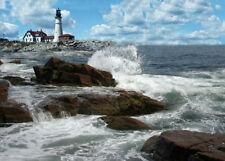 Portland Head Lighthouse, Portland, ME - by Maine artist, Jean McLean - 5 x 7