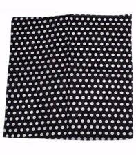 Bufandas y pañuelos de mujer negro sin marca de 100% algodón
