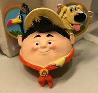 Disney Parks Pixar Up Russell Dug Grape Soda Ear Hat Christmas Ornament New