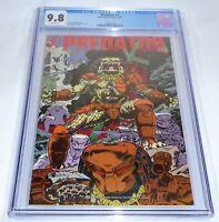 Predator #4 CGC Universal Grade Comic 9.8 Dark Horse Comics 3/90 Warner Cover