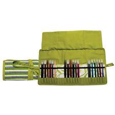 KnitPro knitting needle case for interchangeable needles, Greenery