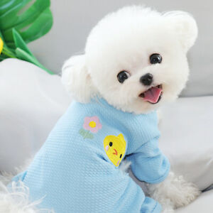 Pet Dog Jumpsuit Small Puppy Pajamas Cat Costume Clothes for Pomeranian Yorkie