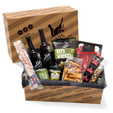 Spanische Tapas - Delikatessen-Präsentkorb Geschenkkorb Spanien TAPAS
