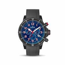 Edox 10227 37NRCA BRB Men's Chronorally S Blue Quartz Watch