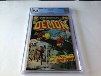 DEMON 2 CGC 9.2 WHITE PAGES JACK KIRBY DC COMICS