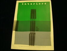 Vintage 1957 INTERIORS The Years Work 17th Annual Collection of Designs Etc A2