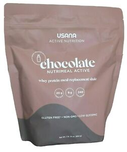 New !! USANA Nutrimeal™ Active Meal Replacement Shake Whey Chocolate 14 servings