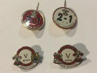 Southampton Pin Premier League Badges Manchester City Swindons Skates Badge Rare