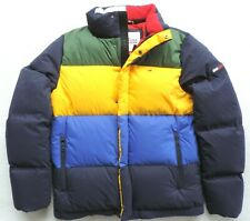 Tommy Hilfiger Mens Down/Feathers Colorblock Jacket
