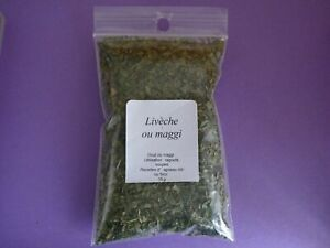 Lovage Or Maggi 0.5oz Called Also Celery Perpetual .soupe Ragouts Velvety