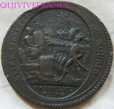 MED6396 - MEDAILLE DE CONFIANCE DE 5 SOLS MONNERON 1792