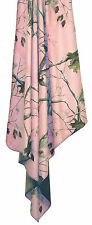 """Realtree APC Throw Carstens PINK Camo 54"""" x  68"""" Blanket Girls Microsuede"""