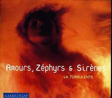 AMOURS, ZEPHYRS & SIRENES - LA TURBULENTE / DIGIPACK AMBRONAY