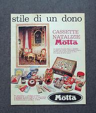 H239- Advertising Pubblicità - 1962 - MOTTA CASSETTE NATALIZIE