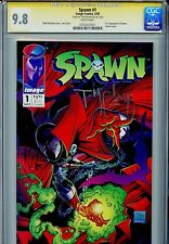 Spawn 1 Cgc 9.8 Ss 1st Al Simmons Todd McFarlane new movie coming White Pages