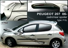 SPOILER REAR ROOF PEUGEOT 207 WING ACCESSORIES