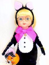 "Tonner KITTY CAT MASQUERADE Ann Estelle 10"" Doll Candy Pail Box Mary Engelbreit"