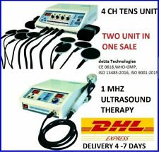 Combo Physiotherapy Deep Heat Shockwave Ultrasound Therapy Electrotherapy Unit