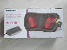 Massagekissen Shiatsu Nackenmassage mit Wärme-Rotlicht Massagegerät