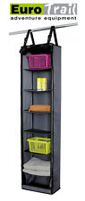 EUROTRAIL Hanging Storage Cupboard Unit with 7 Storage Compartments - Tent, Home