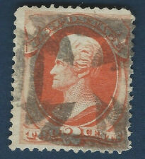 1875 US STAMP #175 WITH MALTESE CROSS POSTMARK FANCY CANCEL